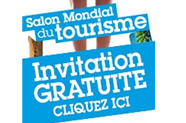 Invitations pour le salon du tourisme de Paris