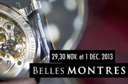 Invitations au Salon Belles Montres Paris 2013