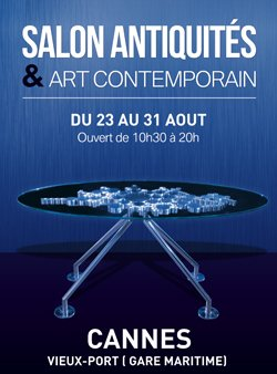 Salon Antiquités & Art Contemporain de Cannes